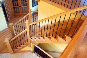 Деревянные лестницы в Павловском Посаде