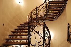 Лестницы на стальном каркасе