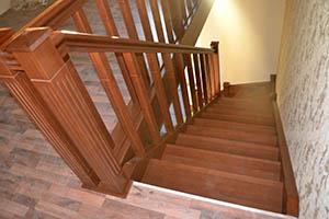 Преимущества, особенности лестниц на тетиве