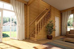 Преимущества лестниц из дерева