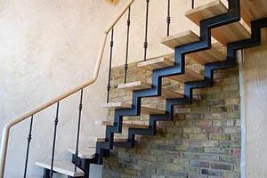 Заказать лестницу на металлокаркасе в Ногинске