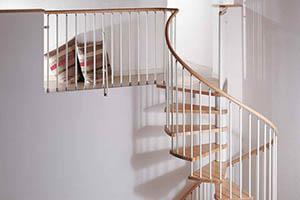 Заказать винтовую лестницу от производителя в Истре