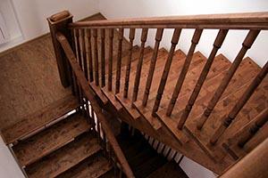 Деревянные лестницы в Королеве