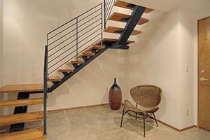 Лестницы на металлокаркасе от производителя