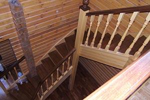 Лестницы из сосны купить