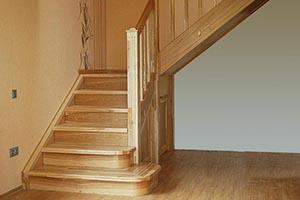 Лестницы из ясеня на заказ
