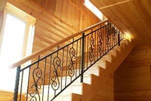 Кованые лестницы на заказ