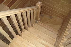 Купить лестницу из сосны