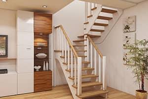 Лестница из ясеня цена