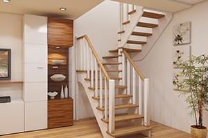 Деревянные лестницы от производителя