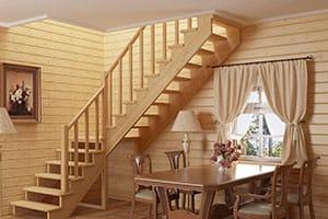 Лестница на дачу в Ногинске