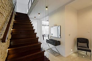 Лестница на второй этаж в Ногинске