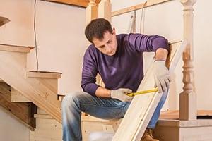 Стоимость монтажа деревянной лестницы