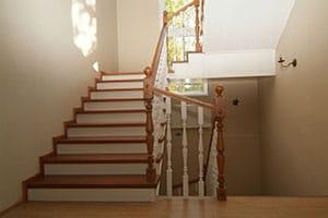Лестницы из натурального бука под заказ